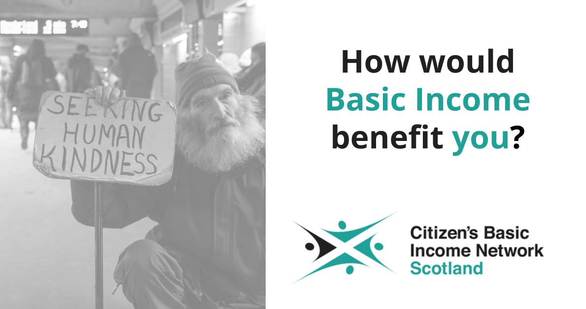 How would basic income benefit you?