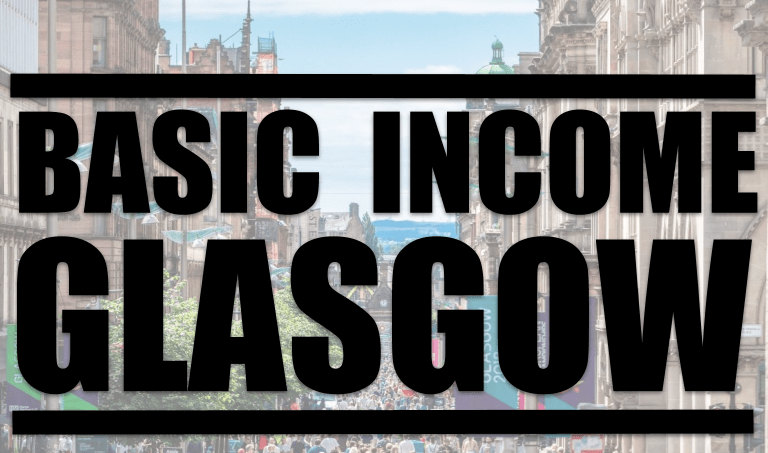 Basic Income Glasgow, with Patrick Hurley