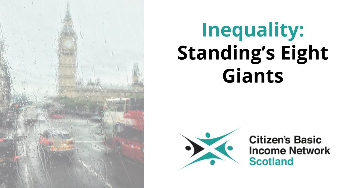 Inequality: Standing's Eight Giants