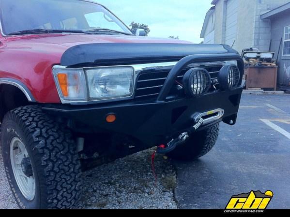 Toyota 4Runner DIY Front Bumper