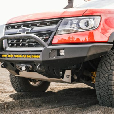 Uploaded ToChevy Colorado ZR2 Front Bumper & Grill Guard