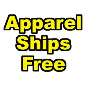 apparel ships free