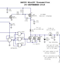 the aa zz zzrx 40 receiver simple directconversion receiver for 160 to 20 m circuit diagram [ 1526 x 888 Pixel ]