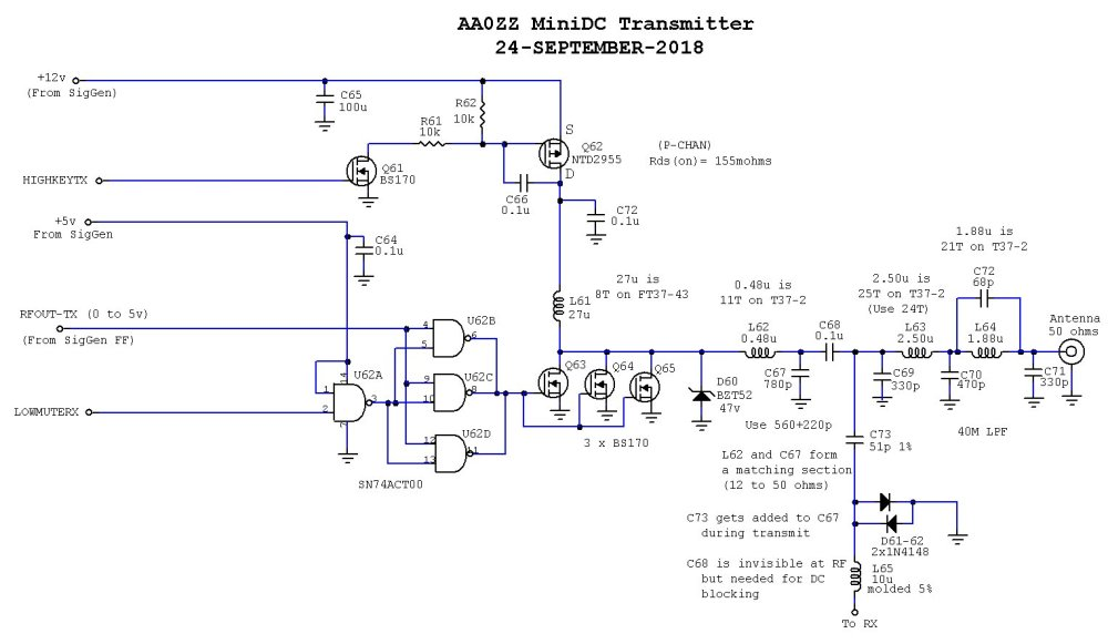 medium resolution of the aa zz zzrx 40 receiver simple directconversion receiver for 160 to 20 m circuit diagram