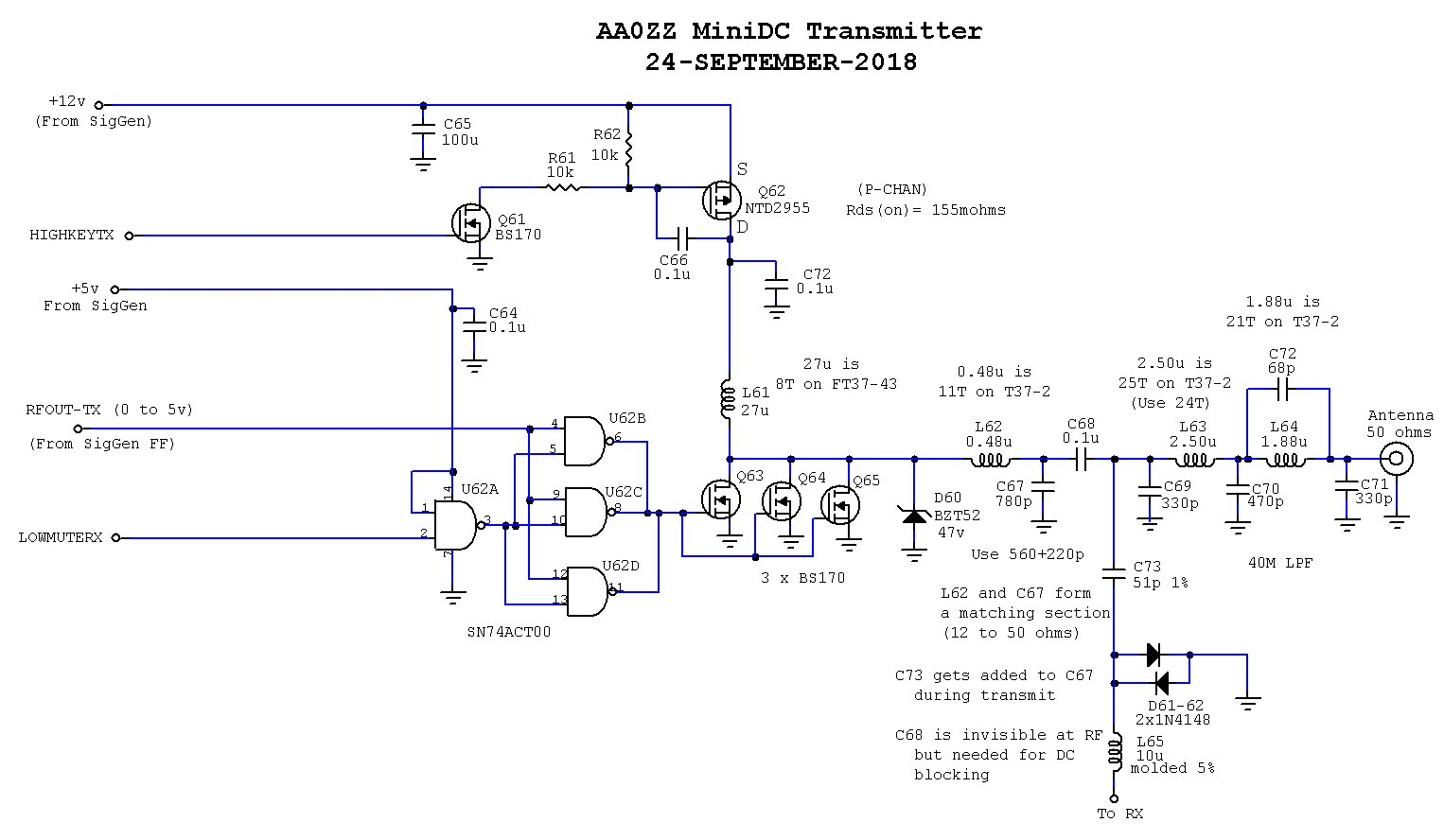 hight resolution of the aa zz zzrx 40 receiver simple directconversion receiver for 160 to 20 m circuit diagram