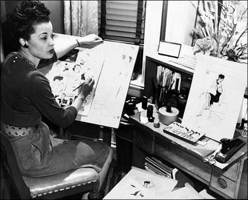Comics artist Jackie Ormes