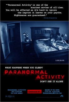 Paranormal Activity (2009) movie poster