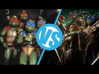Teenage Mutant Ninja Turtles: 1990 and 2014