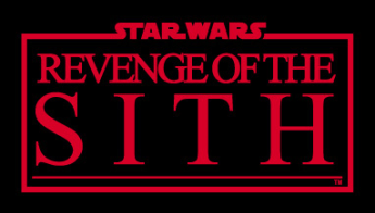 Title card for Star Wars episode 3: Revenge of the Sith