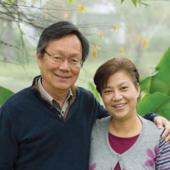 Conrad & Fiona Kwok