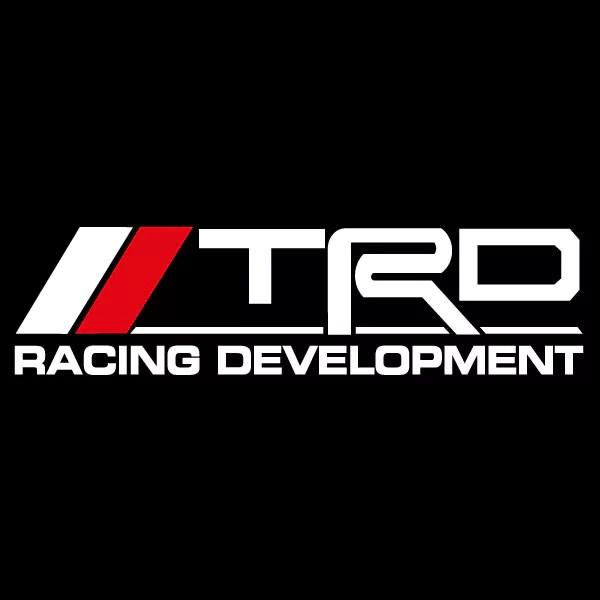 Car Sticker  Trd Racing Development