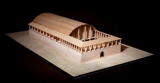 Макет храму з Небелівки