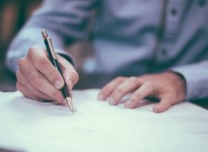 документ, підпис