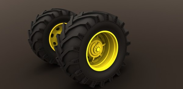 new ensemble roue arriere