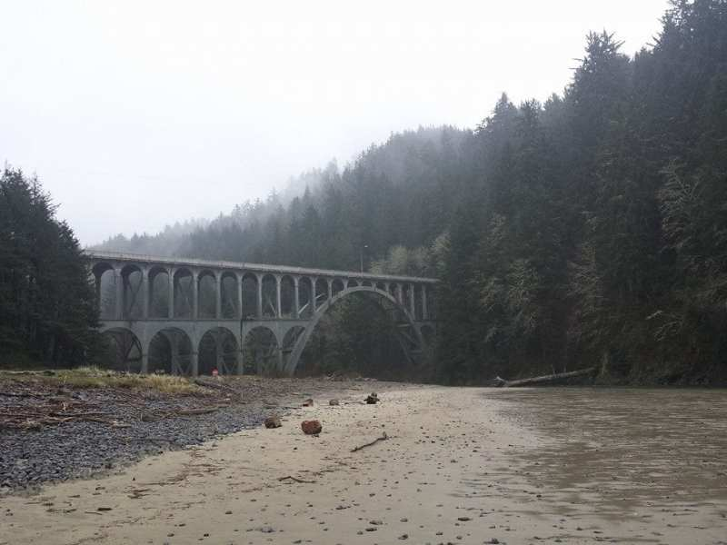 Cape Creek Bridge - Florence, OR Things to do in Salem Oregon