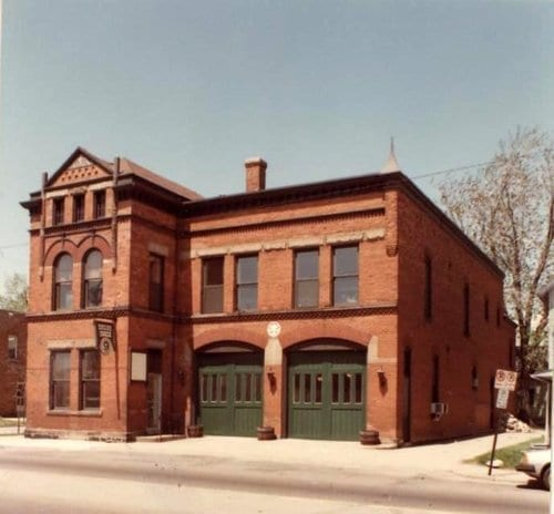 The Mitten Brewing Company engine house