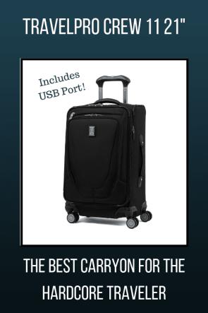 TravelPro Crew 11 21 Inch Suitcase