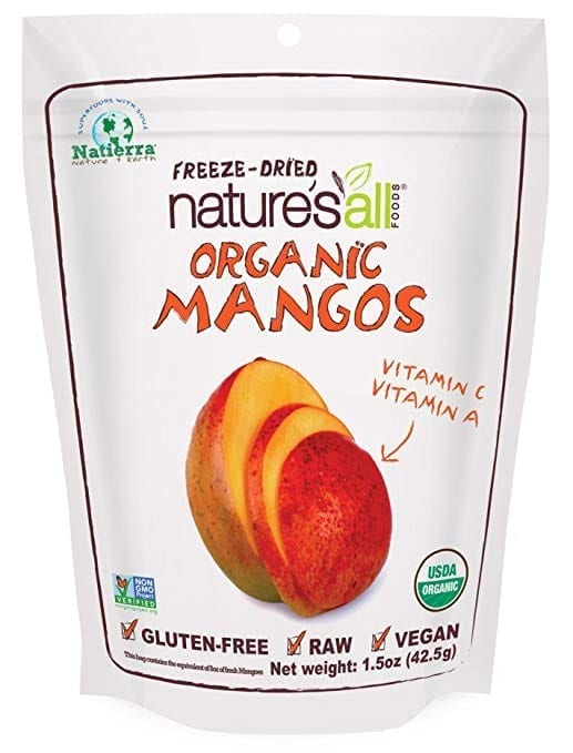Dried Mangos - Healthy Travel Snacks
