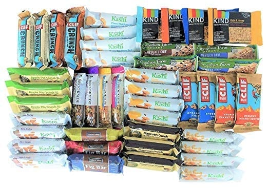 Healthy Travel Snack Bars to Go