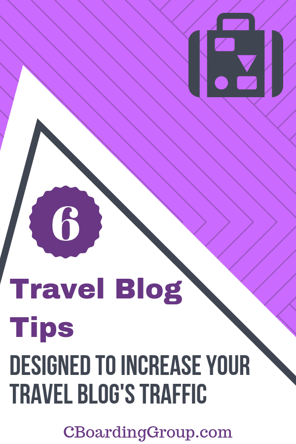 Travel Blog Tips to Increase Travel Blog Traffic