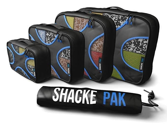 Shacke Pak - 4 Set Packing Cubes - Travel Organizers with Laundry Bag.jpg