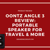 OontZ Angle 3 Review - portable speaker for travel and more