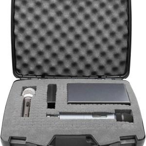 maletín para micrófono