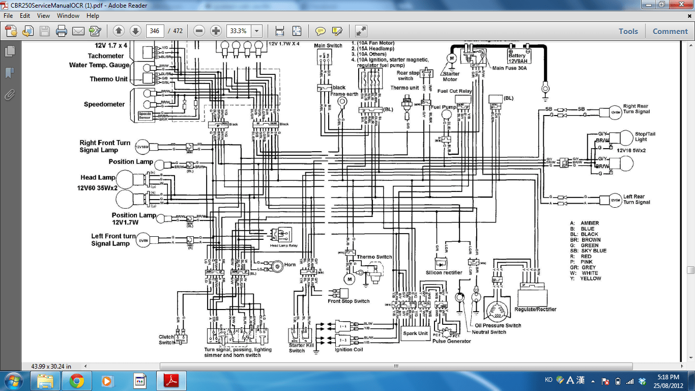 hight resolution of cbr 250 wiring diagram