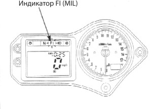 Коды ошибок FI, мотоцикла Honda cbr 600 F4i