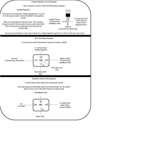 small resolution of 2001 to 2003 honda cbr600 f4i alarm and remote start wiring and relay diagram f4i