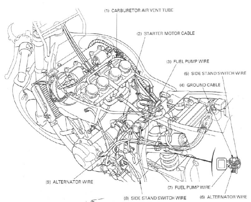 Wire Diagram 02 Honda Cbr 600. Honda. Auto Wiring Diagram