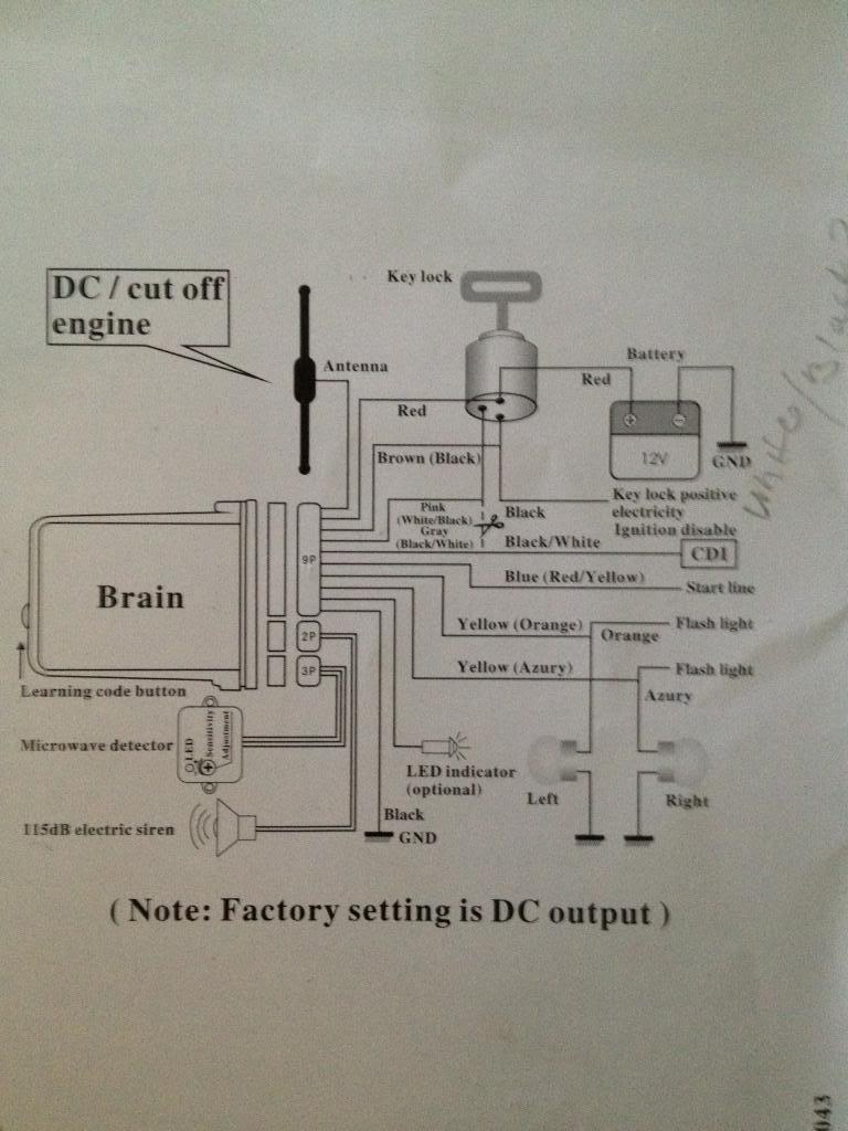 medium resolution of spy 5000m alarm remote start diy install cbr forum enthusiast spy 5000m alarm wiring diagram