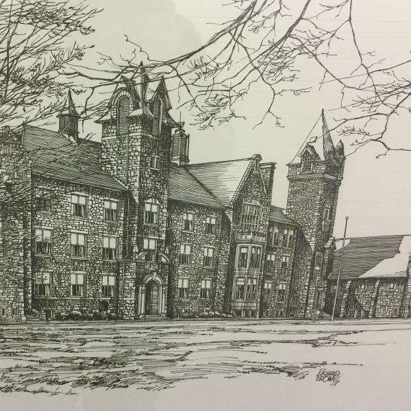 Galt Collegiate Institute Art #cbridge #mycbridge Cbridge.ca