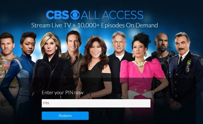 Get ready to redeem your CBS All Access Gift Card abroad