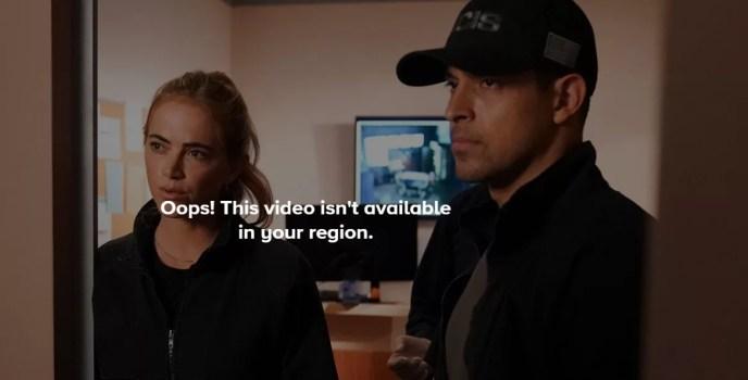 The content isn't available - CBS errorpeak