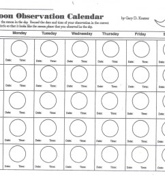Drawing Moon Phases Worksheet   Printable Worksheets and Activities for  Teachers [ 822 x 1024 Pixel ]