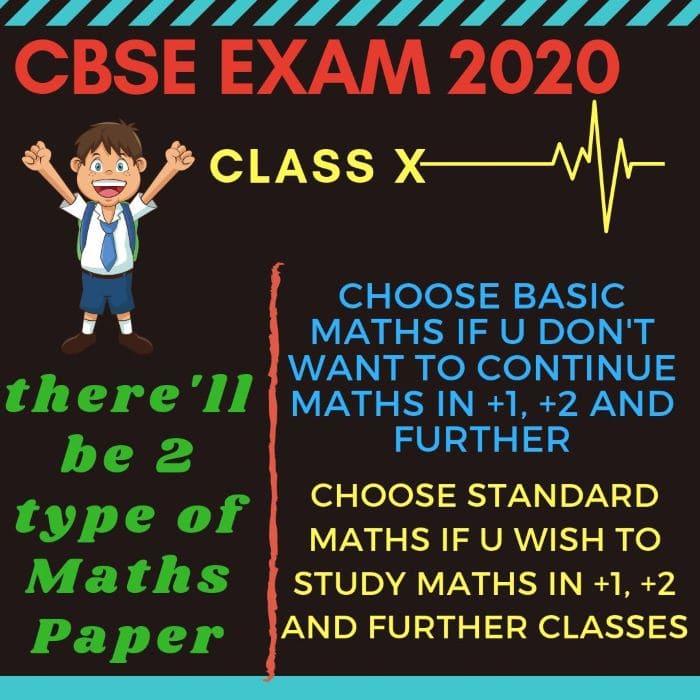 BASIC AND STANDARD MATHS CLASS 10!!