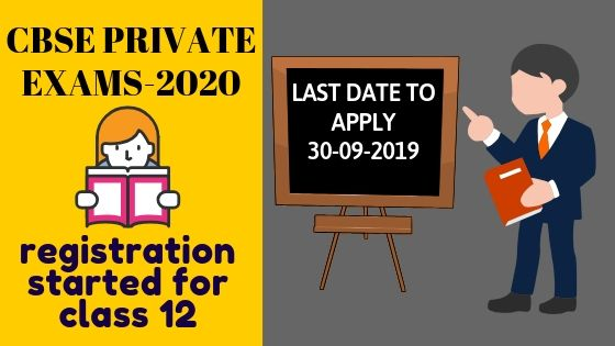 CBSE Private Exams Registration-Important Guidelines.