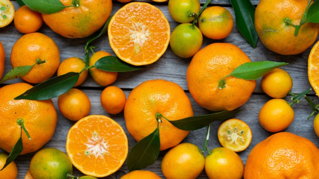 vitamin c rich food orange