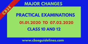 CBSE PRACTICALS DATES ANNOUNCED. CHECK HERE!!