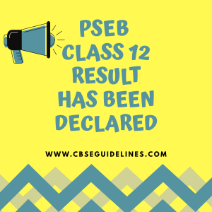 PSEB class 12result