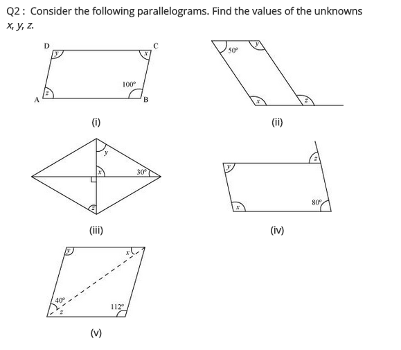 NCERT Solutions for Class 8 Maths Chapter 3 Understanding