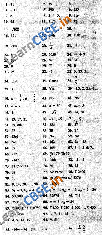 CBSE CCE Summative Assessment Class 10 Maths Arithmetic