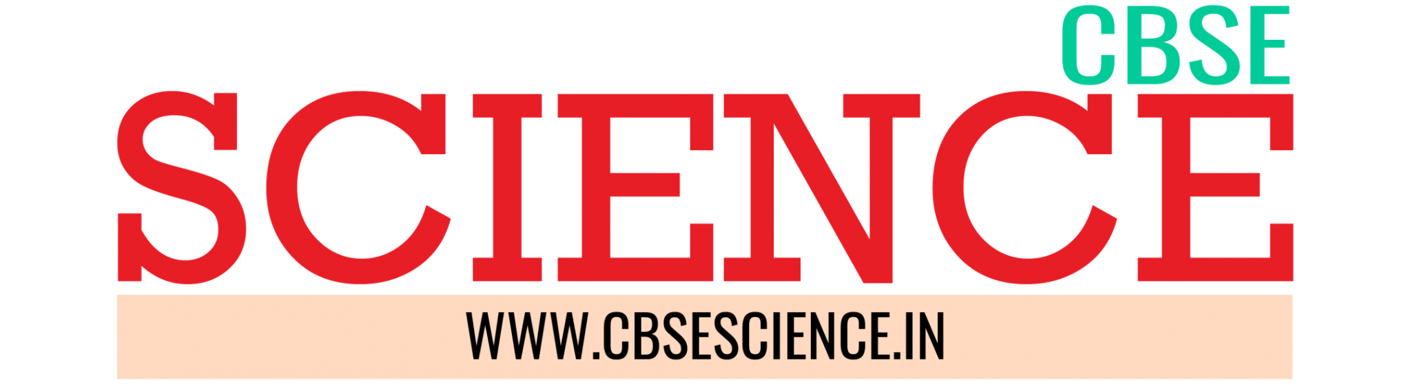 CBSE SCIENCE