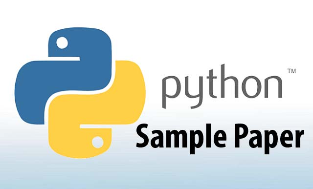 Class 12 Python sample papers