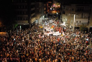 Tel Aviv anti-austerity protests