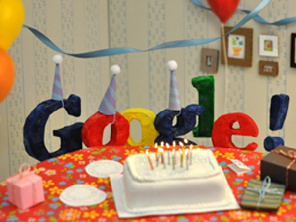 Google Birthday Doodle Lucky 13 - Cbs