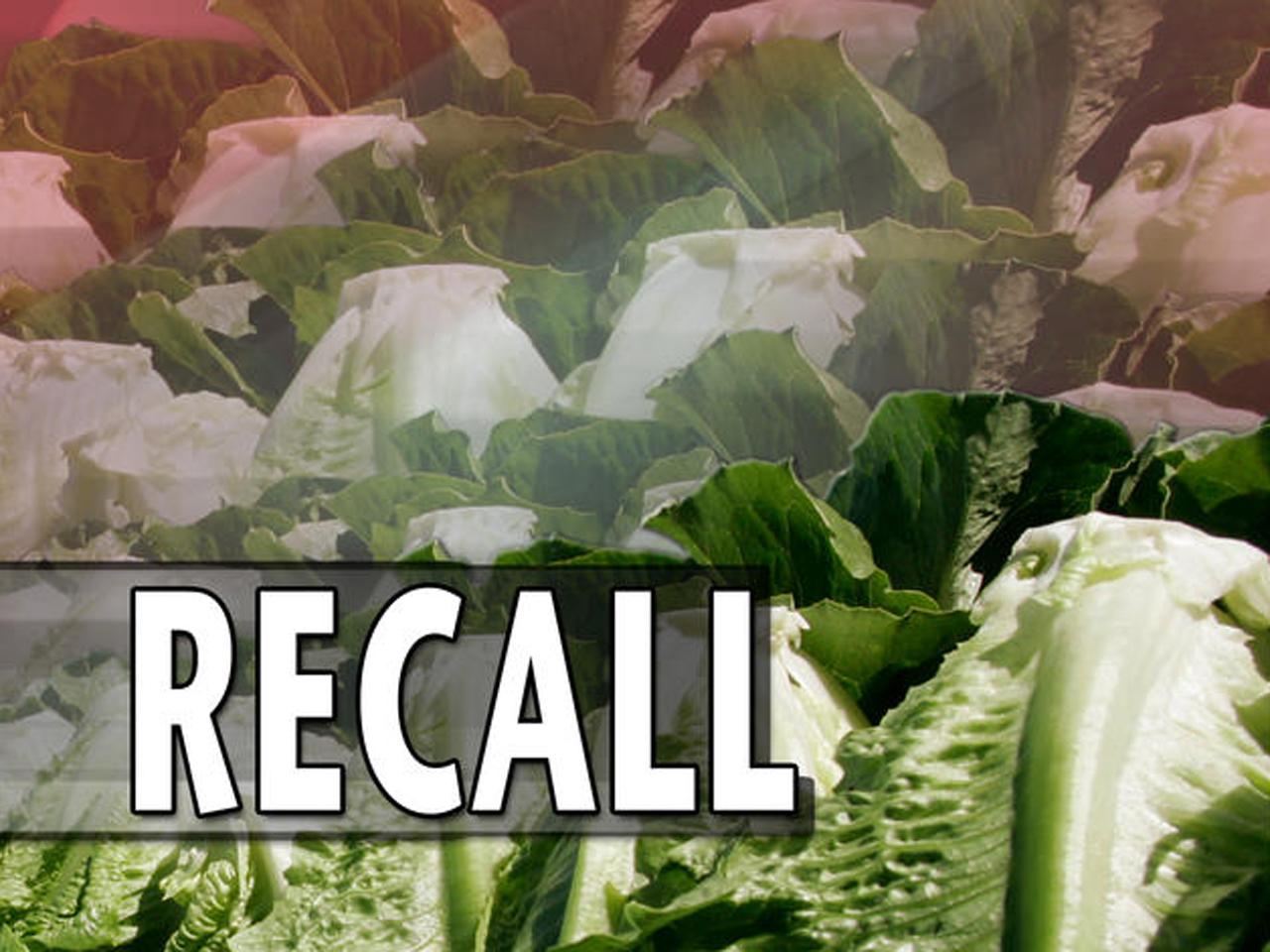 E.coli fears prompt romaine lettuce recall - CBS News