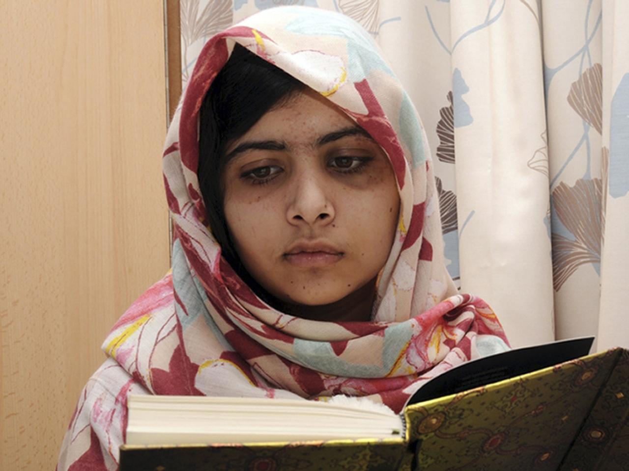 Malala, Pakistani teen shot by Taliban, writing a book