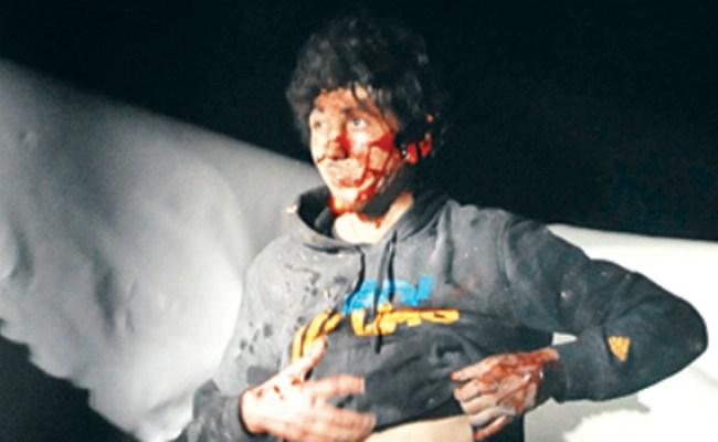 New Photos Of Dzhokhar Tsarnaev S Capture Released Cbs News